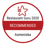 Restaurant Guru 2020 apdovanojimas